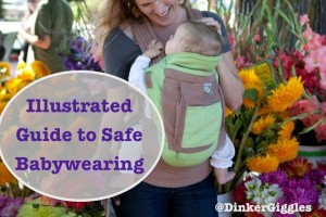 Safe Babywearing: An Illustrated Guide to Hip Health
