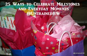 Celebrating Milestones and Moments