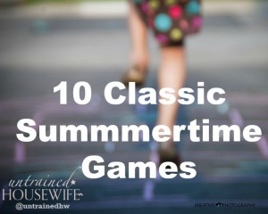 10 Classic Summertime Games for Children