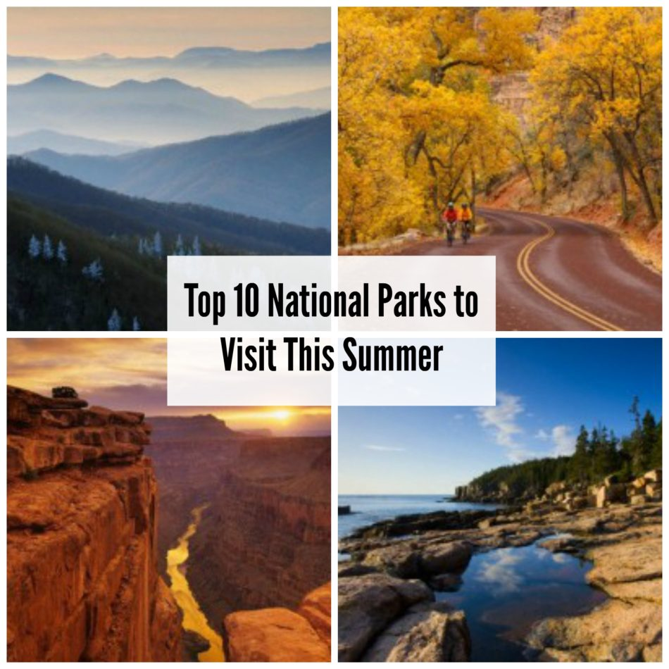 Beautiful Places In Usa Youtube: Top 10 National Parks To Visit This Summer