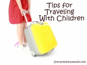 Tips for Traveling with Children