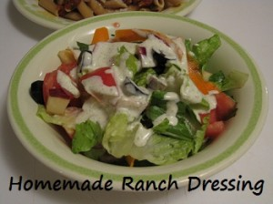 How to Make Your Own Ranch Dressing Mix