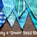 "Tips for hosting an ecofriendly ""Green"" baby shower via @UntrainedHW"