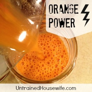 Orange Power Juice