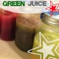 Red Blue and Green Juice