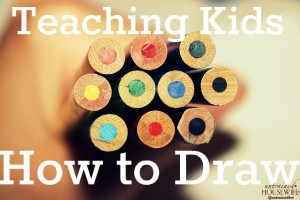 Teaching kids to draw does not have to be a daunting task. @UntrainedHW
