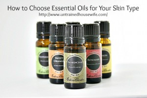 Essential Oils for Homemade Face Oils