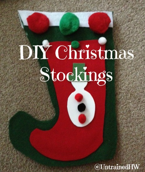 Thank you for saving Christmas – this year was the year I finally gave up the 'temporary' stockings and made my two girks their eb stockings (yes, we have been waiting a bit longer than two years).
