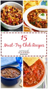 15 Must-Try Chili Recipes