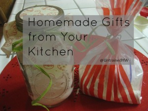Homemade Gifts From Your Kitchen Round-Up