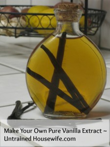 vanilla extract at the untrained housewife.com