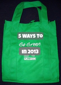 Five Ways to Go Green in 2013