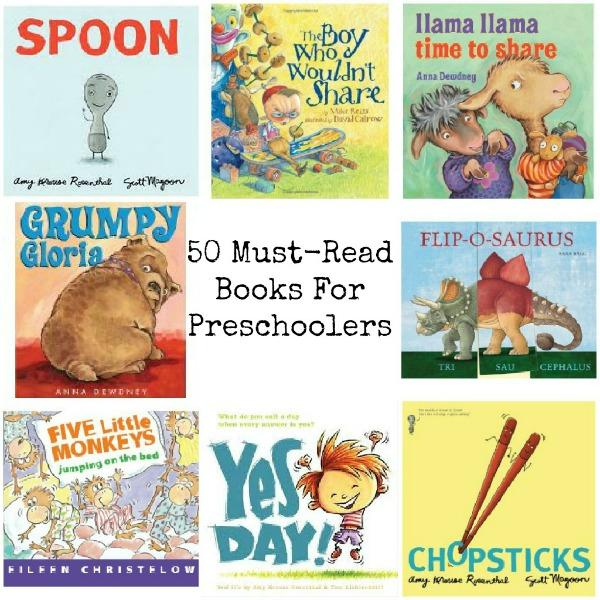 preschool reading books