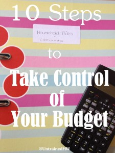 Taking Control of Family Finances – 10 Steps to Implement This Year