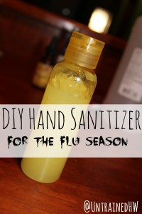 DIY Hand Sanitizer for the Flu Season