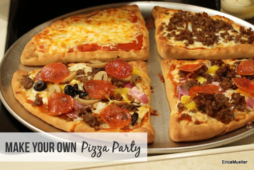 RECAP: Make-Your-Own-Pizza Night   4 Corners Christian Group at UT ...