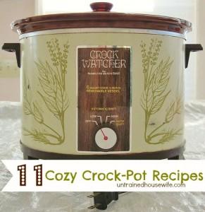 Four Ingredient Crock Pot Cola Chicken (Plus 10 More Delicious Crock Pot Recipes!)