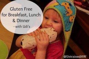 Gluten Free for Breakfast, Lunch, and Dinner – with Udi's
