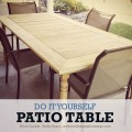 Build your own picnic table for around $100