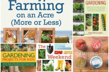 Gardening and Homestead Books for the Beginner - @UntrainedHW