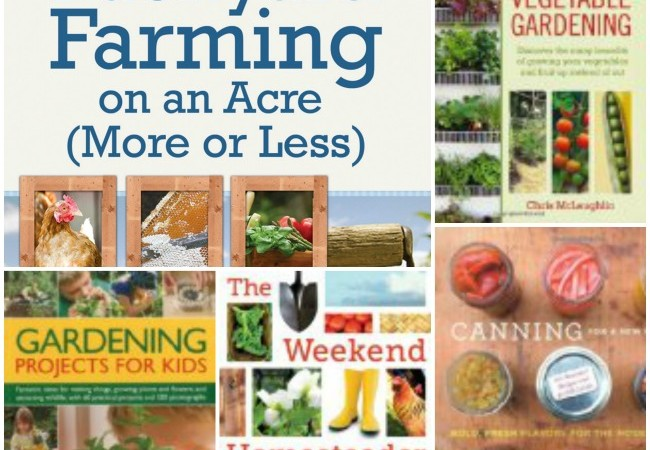 Top 5 Homesteading and Farming Books for Beginners