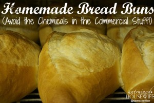Make your own buns for sides, burgers, and more - and skip the nasty chemicals that commercial bread has! @UntrainedHW