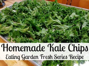 Make Fresh Kale Chips at Home