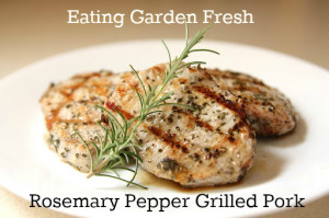 Rosemary Pepper Grilled Pork