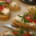 Homemade Bruschetta for Garden Fresh Tomatoes