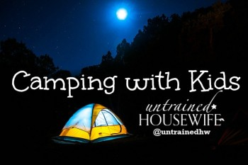 Can you really survive camping with kids?