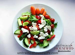 Tomato Basil Salad - fresh tomato paleo recipe