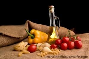 Pasta and tomato al fresco salad recipe - great way to use fresh garden tomatoes!