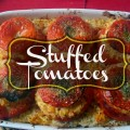 Fresh Stuffed Tomatoes - Gluten-free and paleo friendly