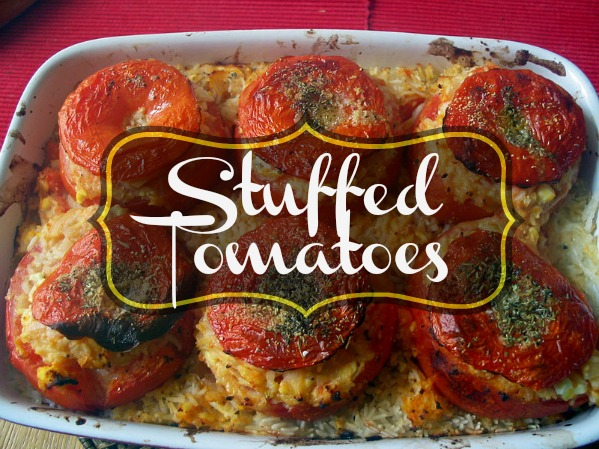 Fresh Stuffed Tomatoes: Gluten-free and Paleo Sandwich Alternative