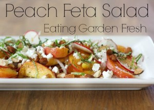 Peach and Feta Summer Fruit Salad