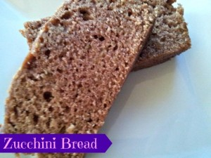 Delicious Homemade Zucchini Bread