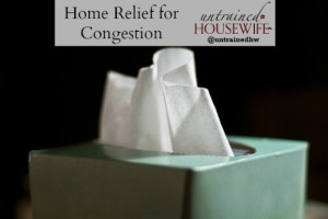 Relief at Home for Sinus Congestion and Allergies #ArmAndHammer