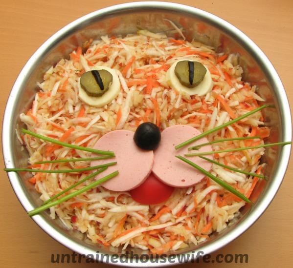 Asian Sesame and Mandarin Coleslaw