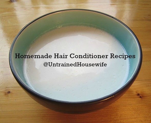 4 Easy Natural Hair Conditioner Recipes