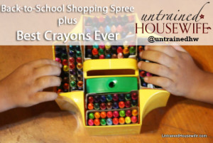 My Office Depot Haul for Back-to-School – Best Crayons Ever
