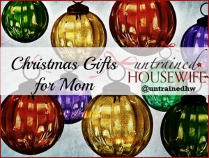 Top 3 Christmas Gift Ideas for Your Mom