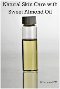 A Bottle of Sweet Almond Oil (Prunus Dulcis)