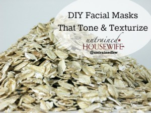 Toning and Texturizing Facial Masks