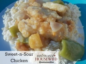 Restaurant Style Sweet-n-Sour Chicken