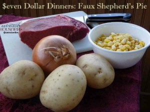 Keep it Simple with Faux Shepherd's Pie
