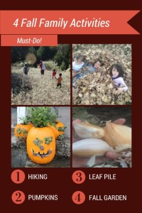 Fall Family Activities - Four Must Do Fun Things