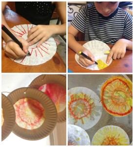Make a Sun Catcher With a Plate