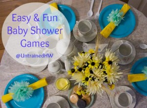 Baby Shower Games Make a Fun Celebration Party