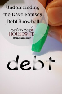 Understanding the Dave Ramsey Debt Snowball – How Does it Work?