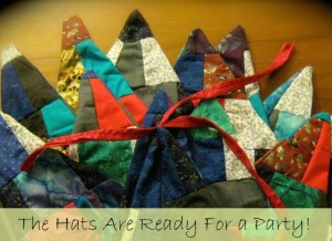 Sew a Sweet, Simple Patchwork Fairy or Wizard Hat